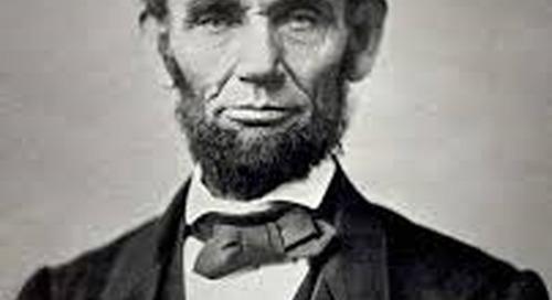 Lincoln on Procrastination