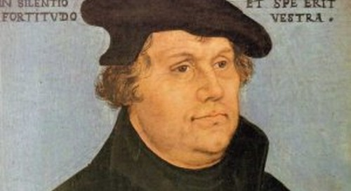 Martin Luther on Persistence