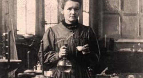 Madame Curie on Fear