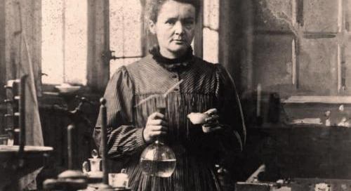 Madame Curie on Confidence