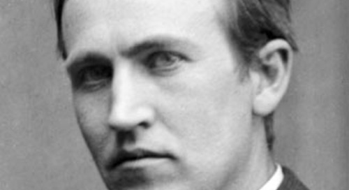 Edison on Tenacity