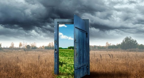 Open a Door Not Yet Tried; You Will Glimpse New Vistas and Discover New Opportunities