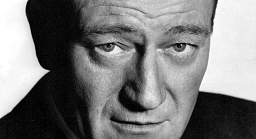 John Wayne on Commanding Respect