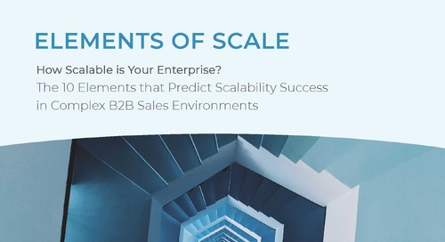Elements of Scale: How Scalable Is Your Enterprise?