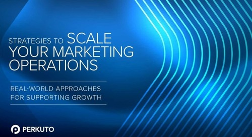 Strategies to Scale Your Marketing Operations – a Free eBook