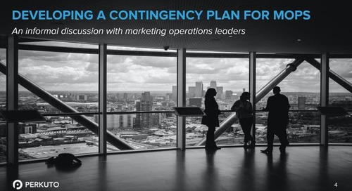 Developing a Contingency Plan for MOPS