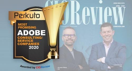 Perkuto Recognized as a Top Adobe Provider