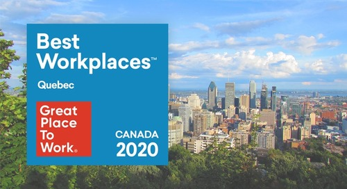 Perkuto Certified As A Great Place To Work® In Quebec