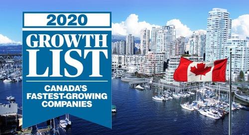 Perkuto Ranks No. 119 on the 2020 Growth List