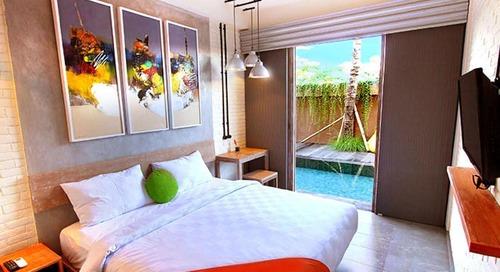 Hotel Murah di Bali dengan Akses Kolam Renang Begitu Kamu Buka Pintu