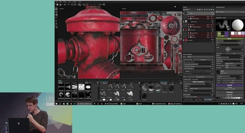 Unite Europe 2016 - Generating Layered Materials with Substance Painter, an artist centric approach