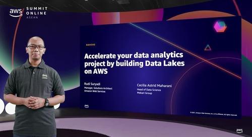 Akselerasi proyek analisis data Anda dengan membangun Data Lakes di AWS [L300]