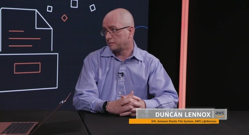 theCUBE Interview with Duncan Lennox, General Manager of Amazon Elastic File System