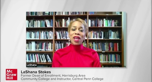 Lashana Stokes speaks on Equity in Distance Education, by McGraw Hil