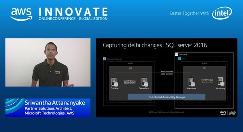 Smart ways to migrate your Microsoft workloads to AWS - AWS Innovate