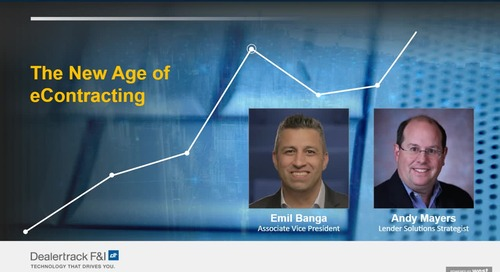 The new age of eContracting
