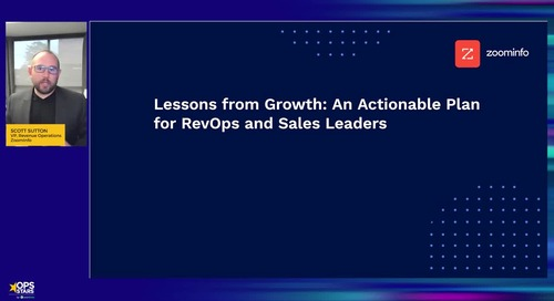 Lessons from Growth: An Actionable Plan for RevOps and Sales Leaders