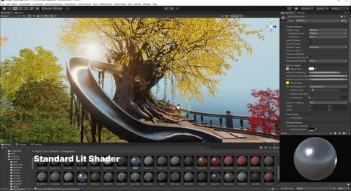 Achieving high-fidelity animation projects in real-time
