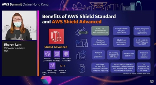 Network protection and advanced threat detection in AWS