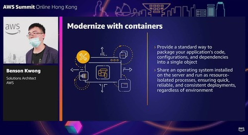 Modernizing with containers and serverless (Level 200 - Intermediate)
