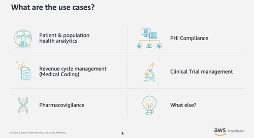 AWS / Pariveda - Accelerating Insights from Unstructured Data, Cloud Capabilities to Support Healthcare