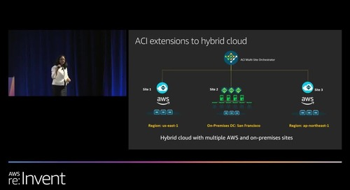 AWS re:Invent 2019: What everyone should know about hybrid cloud networking