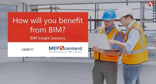 Webinar 'How will manufacturers benefit from BIM'
