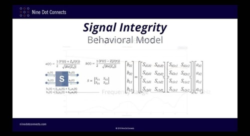 Practical Aspects of Signal Integrity pt2