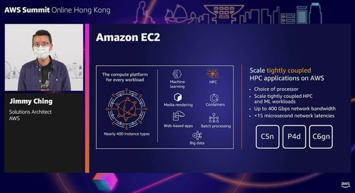 High performance computing on AWS: Innovation without infrastructure constraints (Level 300 - Advanced)
