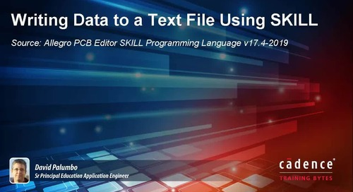 Writing Data to a Text File Using SKILL