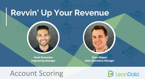 Revvin' Up Your Revenue - Account Scoring
