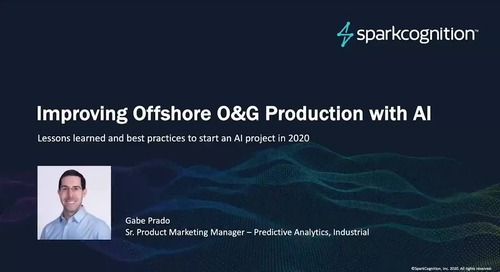 Webinar: Improving Offshore Platform Production with AI in 2020
