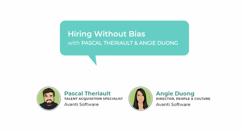 Office Hours with Avanti S1E2: Hiring Without Bias
