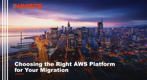 Choosing the Right AWS Platform for Your Migration