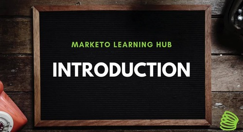Marketo Learning Hub