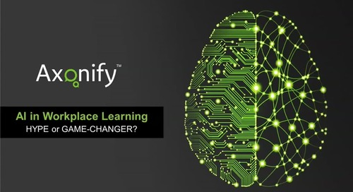 Webinar: AI in Workplace Learning: Hype or Game-Changer?
