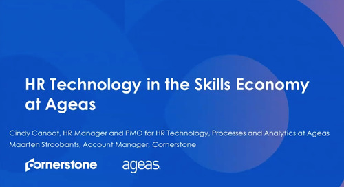 How HR can win in the Skills Economy: Ageas case study