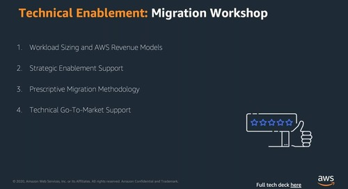 Accelerate your customer migrations(1)