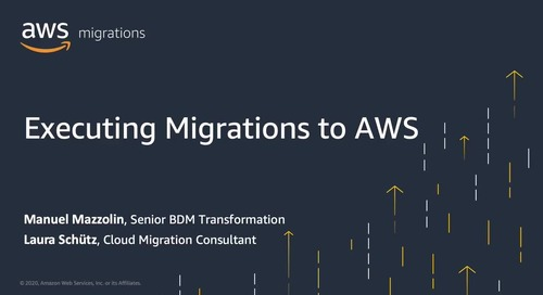 Executing Migrations to AWS