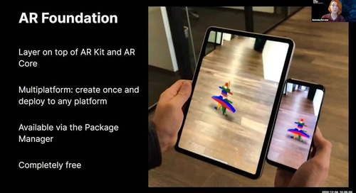 Augmented Reality for M&E