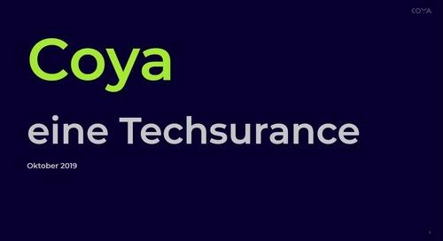 Coya: #Techsurance