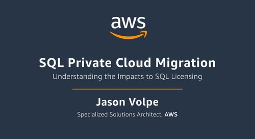 SQL Private Cloud Migration