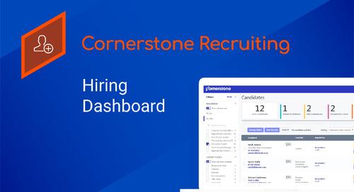Cornerstone Recruitment | Hiring Dashboard