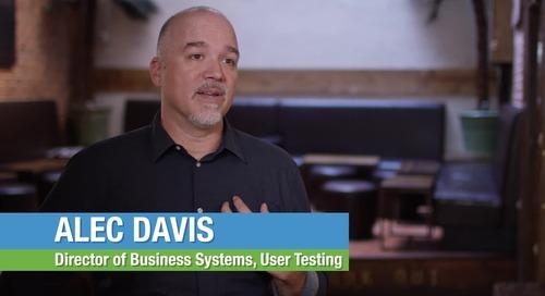 Customer Testimonial - UserTesting