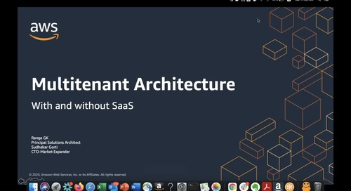 Multi-Tenancy on Cloud, With and Without SaaS