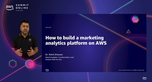 How to build a marketing analytics platform on AWS [L200]