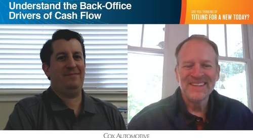 Understand the Back-Office Drivers of Cash Flow