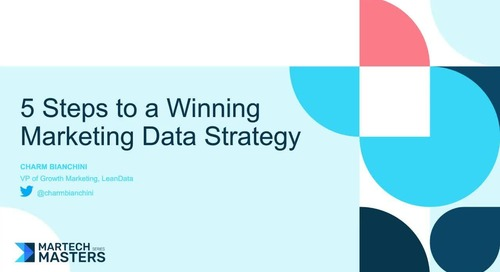 5 Steps to a Winning Marketing Data Strategy