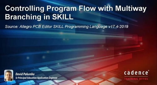 Controlling Program Flow with Multiway Branching in SKILL