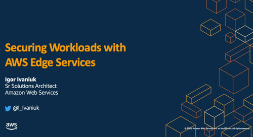 AWS Dev Day: Безопасность приложений с AWS Edge Services